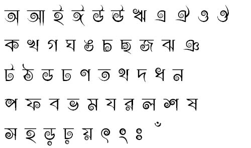 Most Popular Bangla Fonts